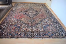 Persian carpet, Heriz – around: 1950 - with certificate of authenticity