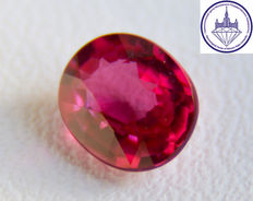 Ruby 0.70 ct. No reserve.