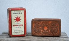Packaging - Rode Ster light fragrant smoking tobacco - 1st half of the 20th century.