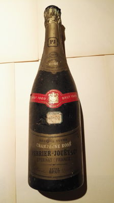 1969 Champagne Rosé Perrier Jouet, Epernay, France - 1 bottle