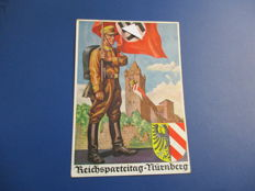 WW II Correspondence Germany: letters, propaganda postcards and stamps - all original