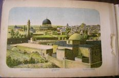 Lot with 4 Palestine flower and views albums -  Early 20th century