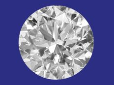 Diamond, brilliant cut, 0.50 ct D/VVS1 (ref: #0117-101)