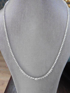 18k Gold Diamond Necklace - 15ct