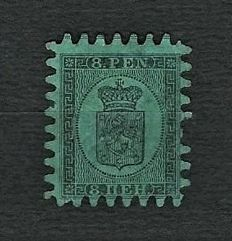 FINLAND 1866-91 - Russian Administration - Batch of Coats of Arms