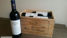 2005 Chateau Haut St georges, St. Georges - St. Emilion - 6 bottles in wooden box