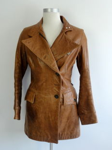 Jean Paul Gaultier – Leather – Trench Coat
