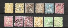 Switzerland 1879/1993 - Selection between Michel 20 and 1489