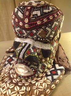 Bwoom mask - KUBA - D.R. Congo