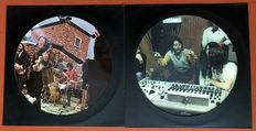 """Beatles: lot of TWO rare unofficial PICTURE DISC lp's """"Sweet Apple trax volume I"""" and 'Sweet Apple trax volume II"""""""