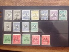 Australia, New Guinea, N.W. Pacific Islands – A small collection on stock cards