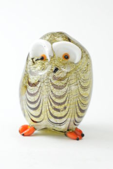 Dario Frare (Frare glassworks) - Large Owl