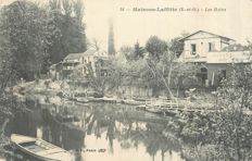 France - Yvelines 78 - Lot of 95 cards - Maisons laffitte, St Syr l'école, Eaubonne, Le Vesinet, Vallée de chevreuse, les Châteaux de la Vallée, Mantes, Le Perray, Rambouillet, St Germain en laye, Versailles, etc ...