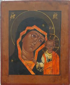 Mother of God of Kazan - Russia, late 20th century