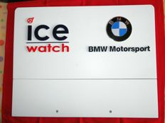 POS Display stand double sided - Ice Watch & BMW Motorsport - 2000s