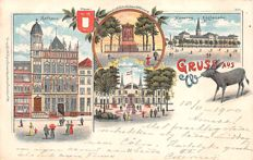 160 x, Germany with litho cards and other attractive city views and also some picture postcards.