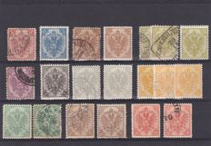 Bosnia 1894/1916, Serbia 1869/1914 and Bulgaria 1901/20 - a small selection