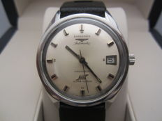Rare Longines Ultra Chron – Over-sized – Reference 7951. Automatic – Steel – Vintage.