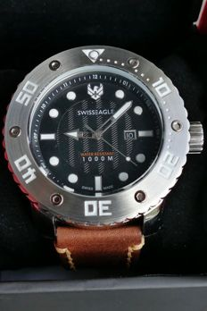 Swiss Eagle Abyss, divers' watch for men, 2017, never worn