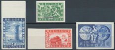 Belgium – collection of Postage Due, Official and SPECIMEN stamps and airmail.