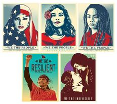 "Shepard Fairey (OBEY) + Ernesto Yerena - ""We The People"""
