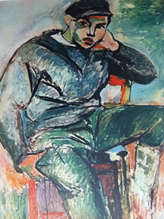 Henri Matisse (after) - Young sailor with cap