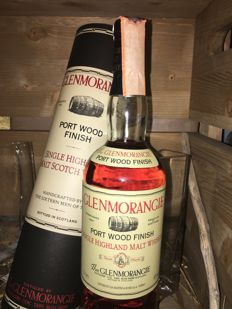 Glenmorangie - Port Wood Finish (Old Style) 12 year old