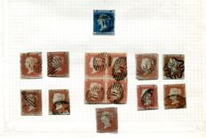 Great Britain 1840/1951 - collection including high values, on 32 album pages.