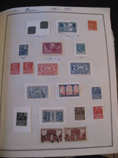 France 1900/1955 – Stamp collection