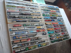 Collection - brewery trucks, advertising trucks, a few historic  trucks and rarities, in collector boxes, 82 items