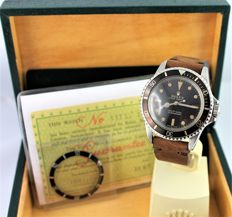 Rolex Submariner – Reference 14060. 5513 - Faded brown - men's / unisex - 1960s