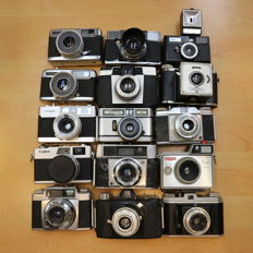 15 VINTAGE cameras for the collector