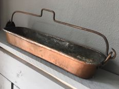 Authentic French fish pan, France, 1st half of 20th century