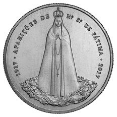 100 Years since the Apparitions at Fátima – €2.50 – 2017