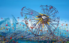 Jeff Gillette - Split Mickey Ferris Wheel