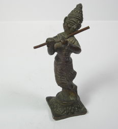 Krishna - bronze - India - end of the 19th/ beginning of the 20th century