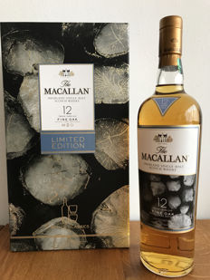 Macallan 12 years Fine Oak Triple Cask w/ 2 glasses