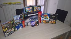 Nintendo 64 boxed - 9 games boxed - 1 controller NEW