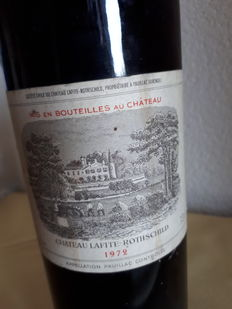 1972 Chateau Lafite Rothschild, Pauillac 2eme Grand Cru Classé - 1 bottle 73 cl.