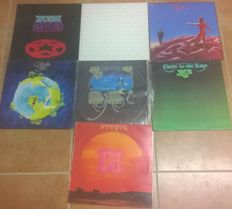 Prog rock including Pink Floyd The Wall first UK press