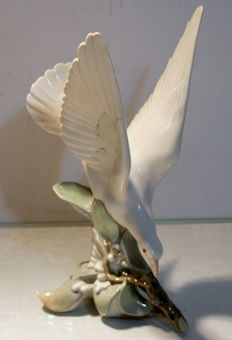 Porcelain figurine Lladro - Turtle Dove