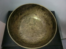 Large, Tibetan singing bowl – Tibet – late 20th century.