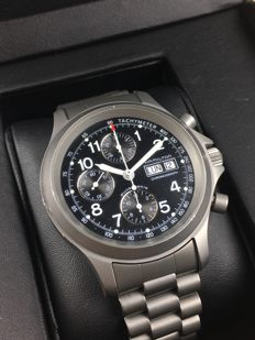 Hamilton Flieger chronograph automatic, reference: 36602, men's watch