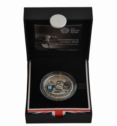 "Great Britain - 5 Pounds 2009 ""Olympic Games London 2012"" - silver"