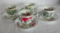 Cups from The Royal s. Bavaria fine porcelain