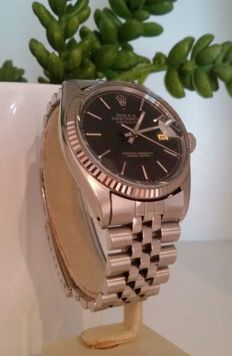Rolex Datejust 16014 – Steel case and 18 kt white gold bezel