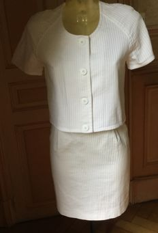 Courreges - White Summer Suit