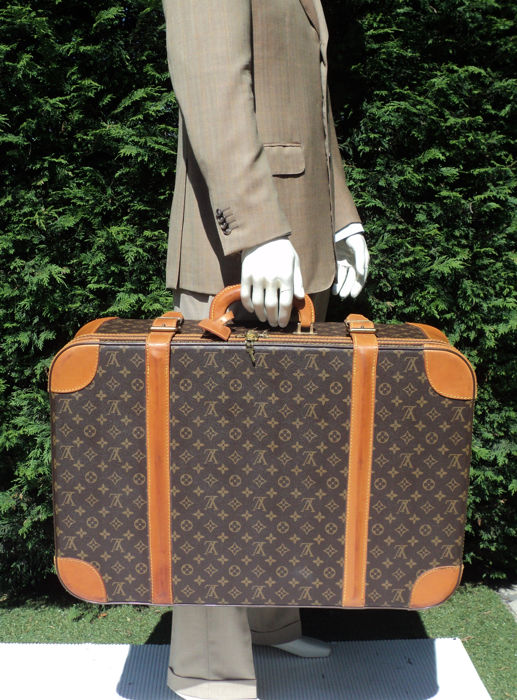 981c3057260 Louis Vuitton - Monogram Stratos 70 Semi-Hard Suitcase - Catawiki