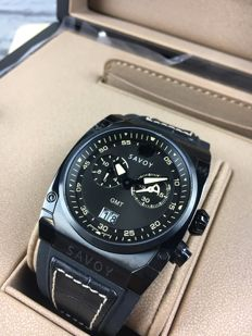 Savoy Midway GMT Chronograph, reference: B2208G.02I.RB33, men's watch