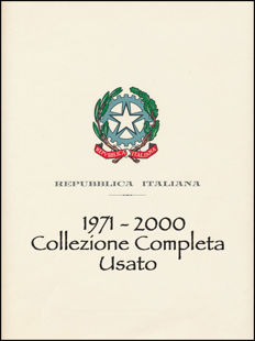 Italy, Republic, 1971-2000 – Ordinary Post – complete collection – cancelled